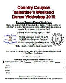 Country Couples Workshop Reg form